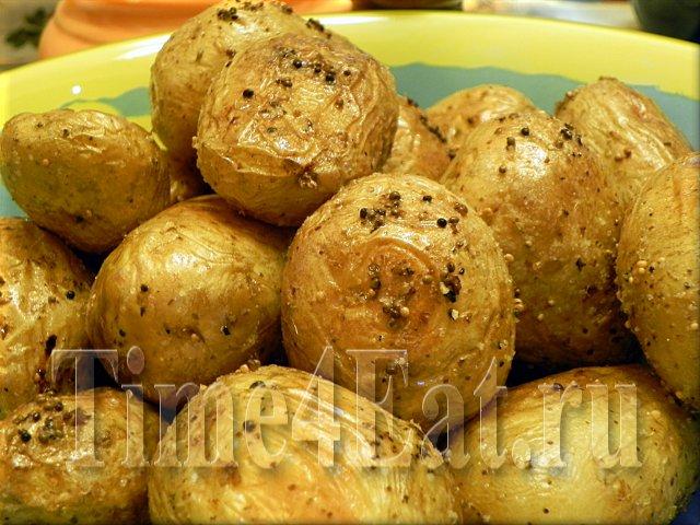 Картошка печеная