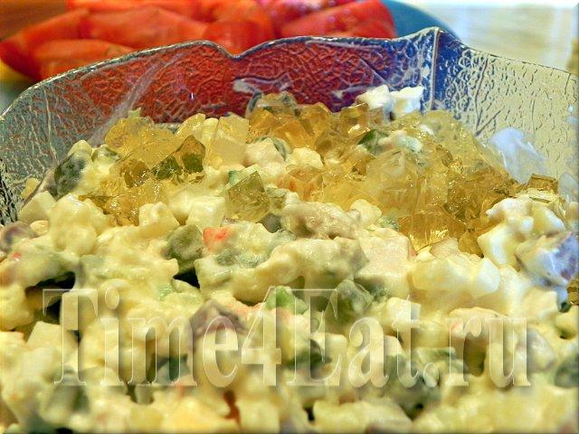 салат «Оливье» под старину