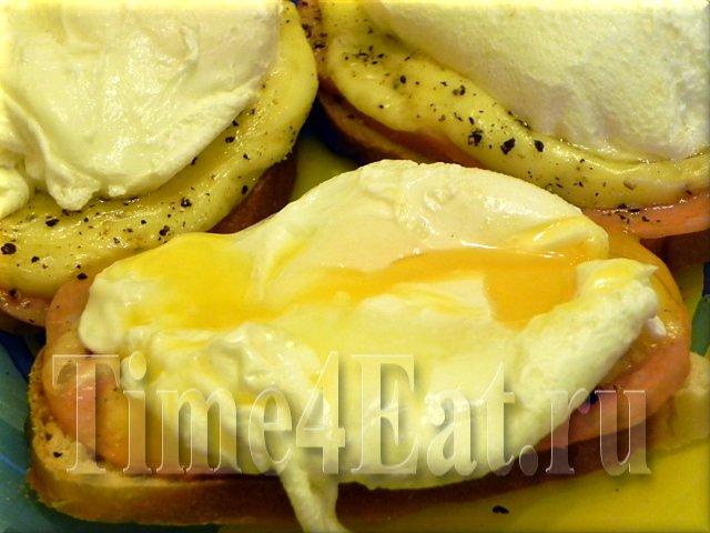 Яйца «Пашот» и «Бенедикт»