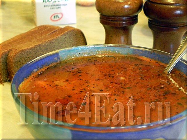 Фасолевый суп с бараниной