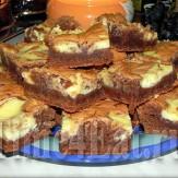 Брауни с творожным сыром