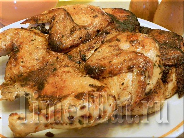 Цыпленок жареный целиком