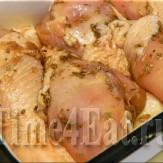 Куриные голени гриль в медово-соевом маринаде