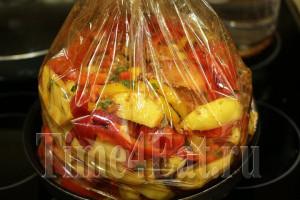 Картофель со свиными рёбрами-1