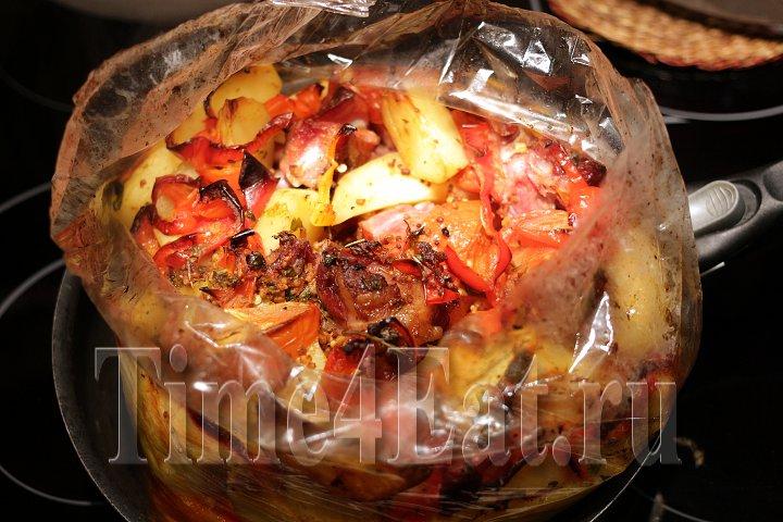 Картофель со свиными рёбрами-2