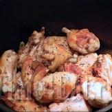 Курица тушеная в грибном соусе