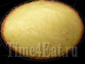 Лимонный тарт с белковым кремом
