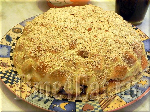 торт Наполеон по-деревенски